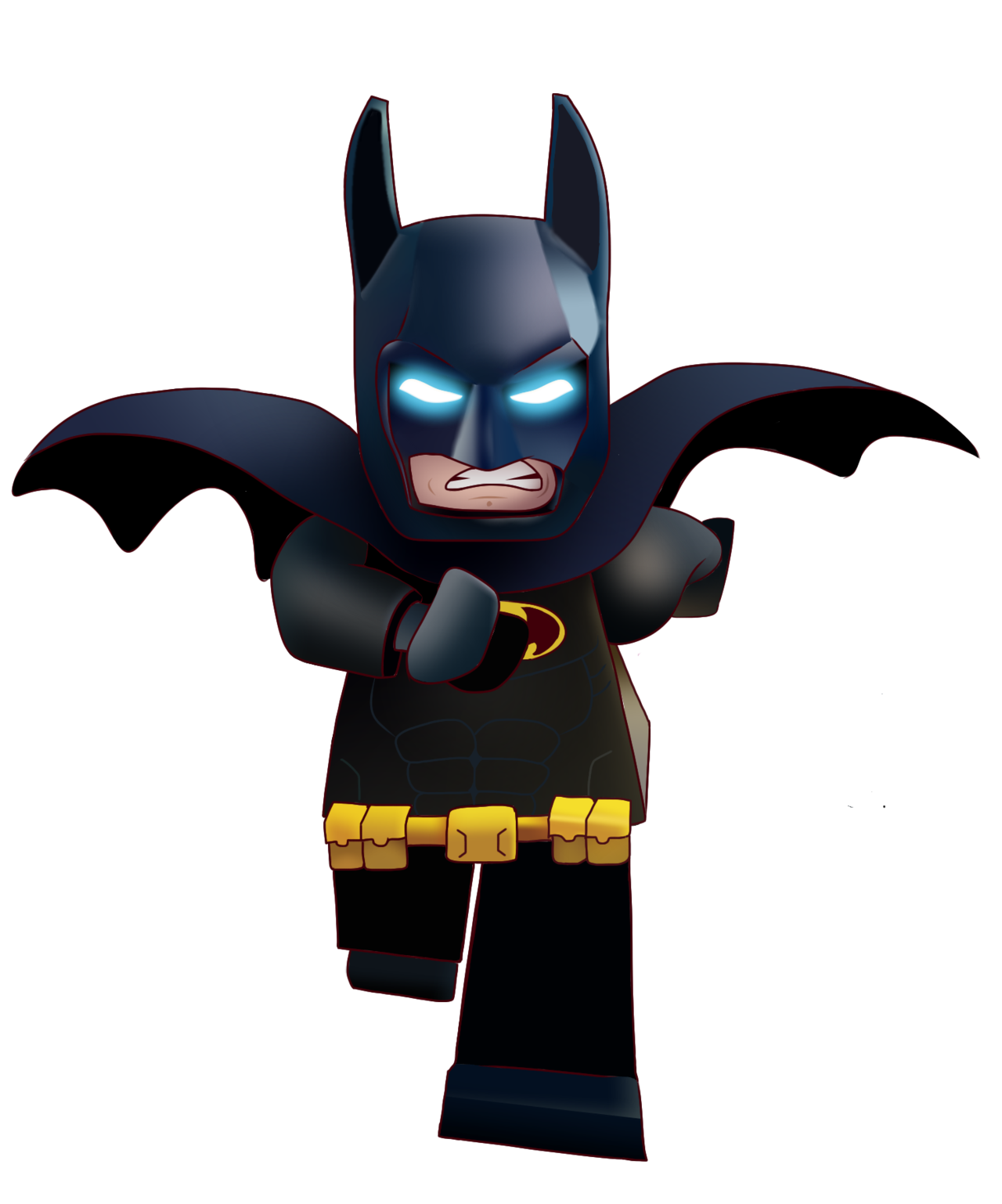 Lego Batman Clipart Png No Background Transparent