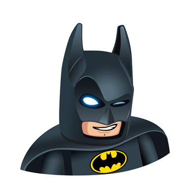 Batman Wink Feature Emoji Clipart Png