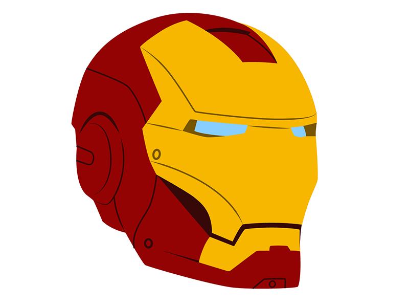 iron man face cartoon images wwwpixsharkcom images