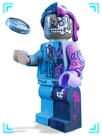 double face lego batman clipart