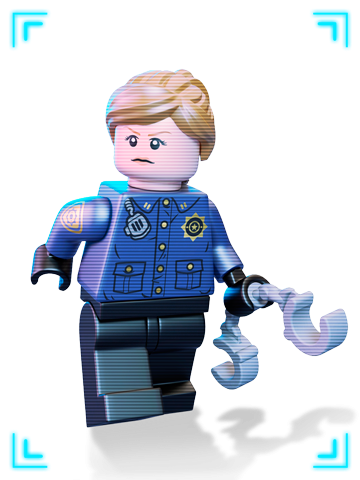 Police Lego From Batman Lego Movie Clipart