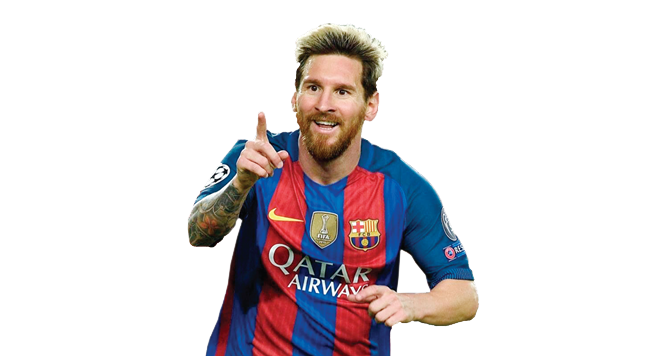 Messi Png 2017 Barcelone Spain