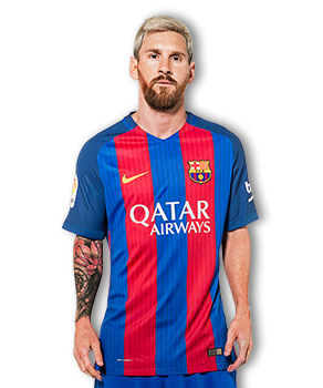 lionel messi fcb official 2017
