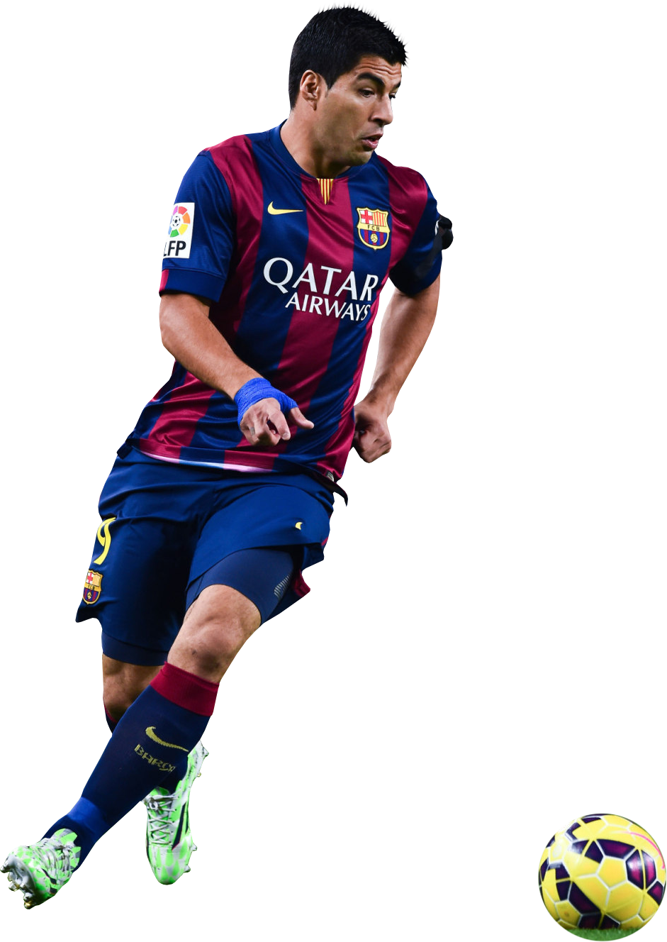 luis suarez 2017 with a ball png