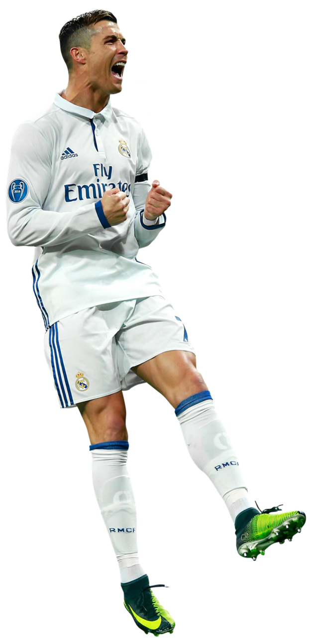 cristiano ronaldo winner real madrid clipart png