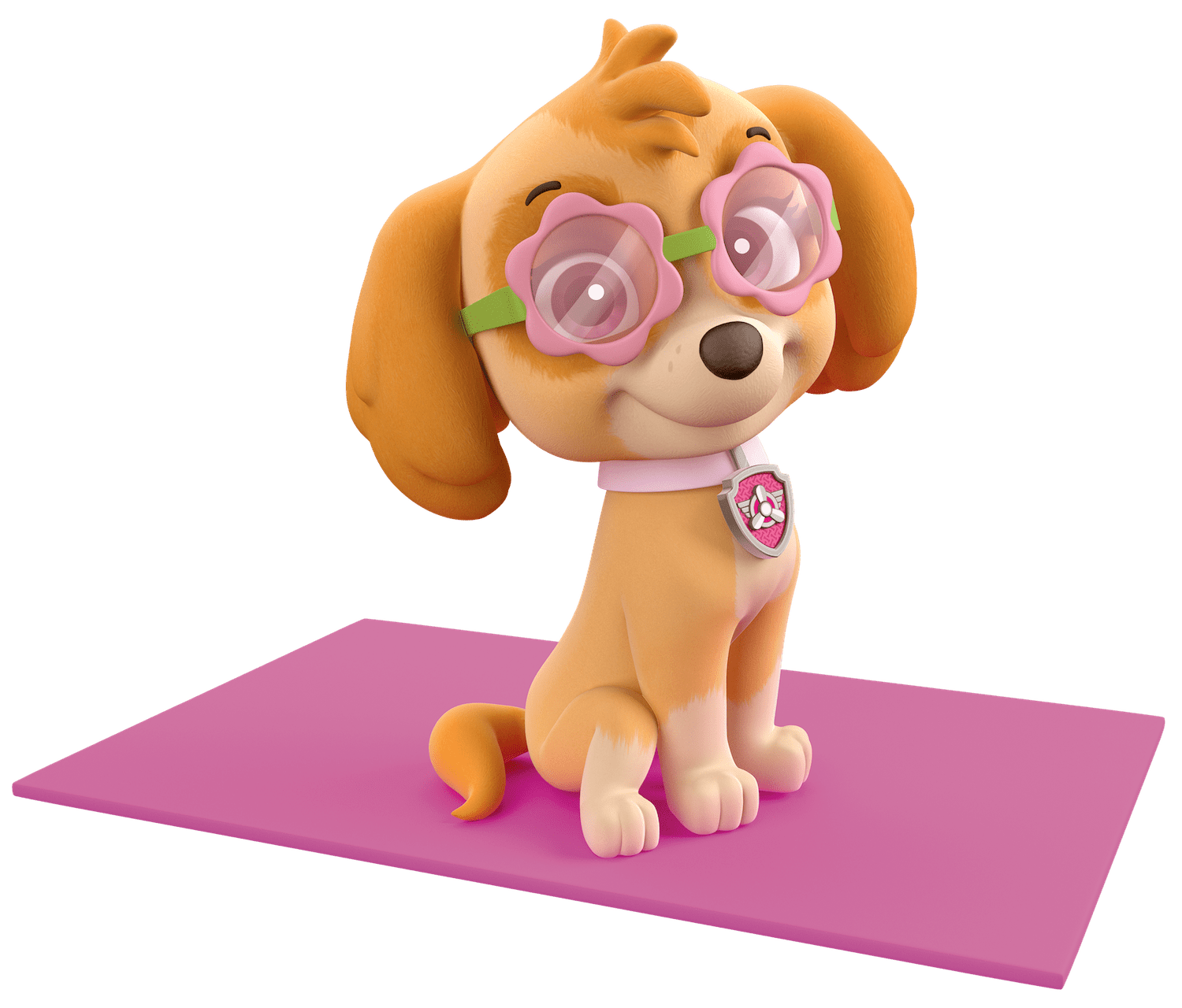 Skye Ready For The Gym Paw Patrol Clipart Png
