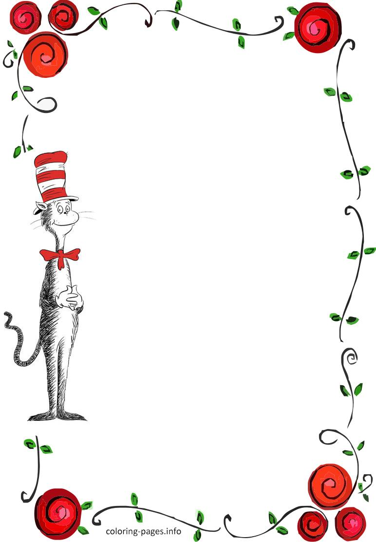 Free Printable Dr Seuss Cat In The Hat