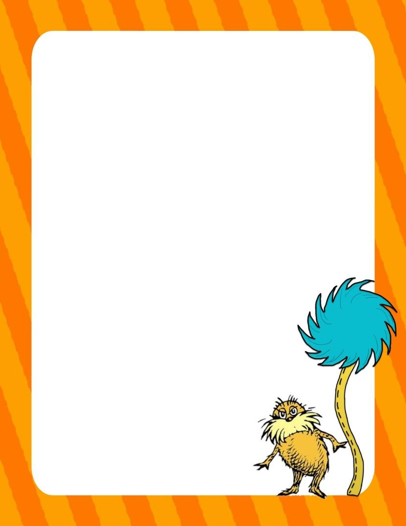 scrap n teach dr seuss writing papers free border free star clip art outline free star clip art for teachers