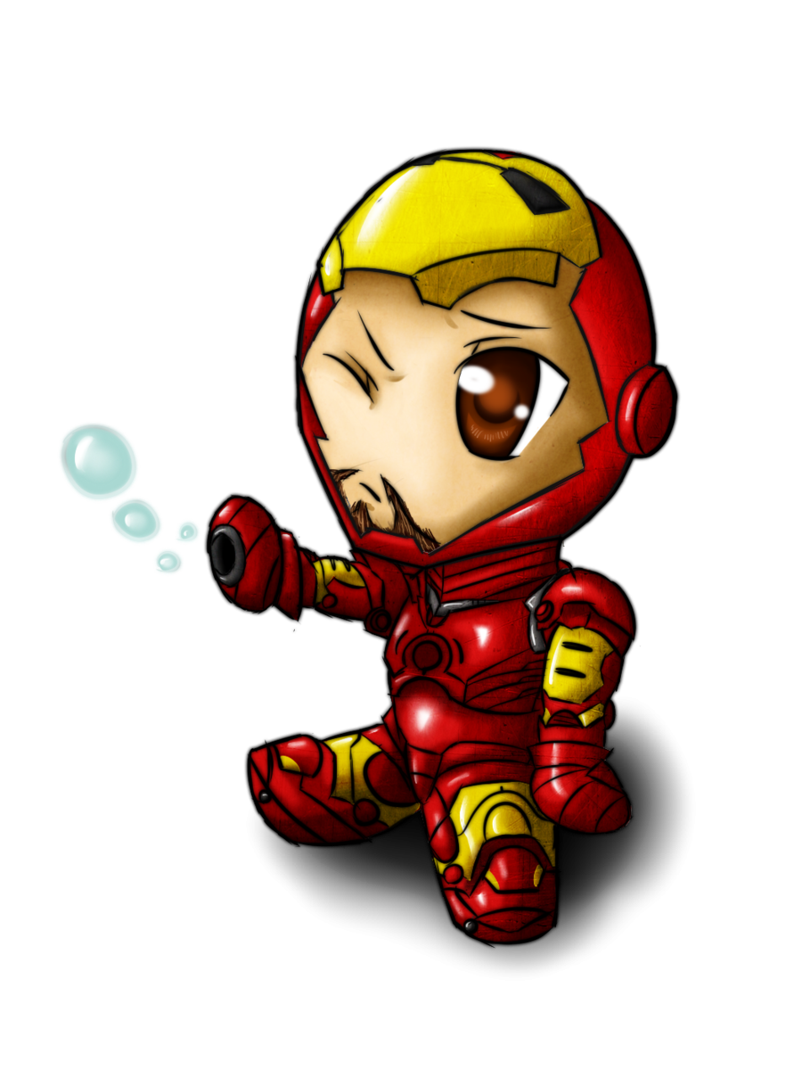 iron man baby friend of thor clipart