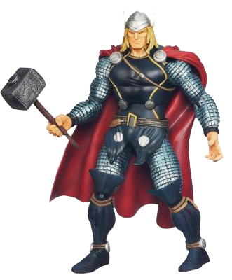 thor hold hammer clipart image png