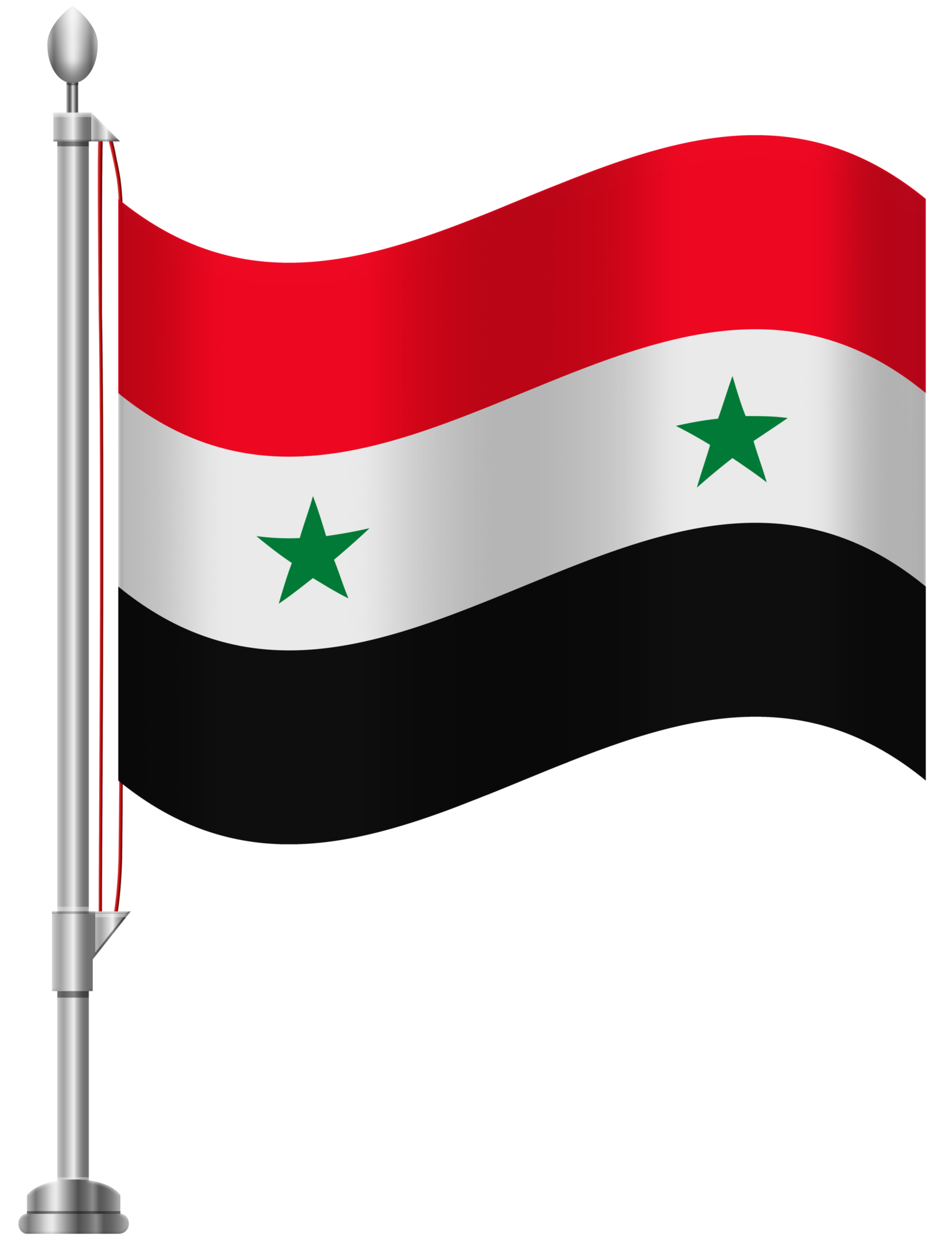 Syria Flag PNG Clip Art