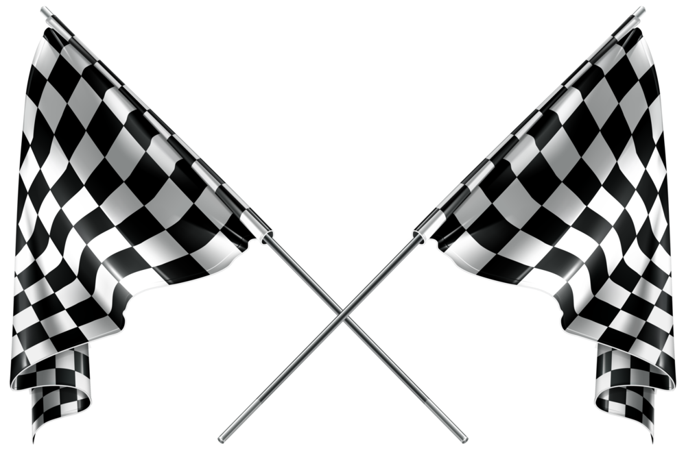 Line Art Resolution : Checkered flags png clipart