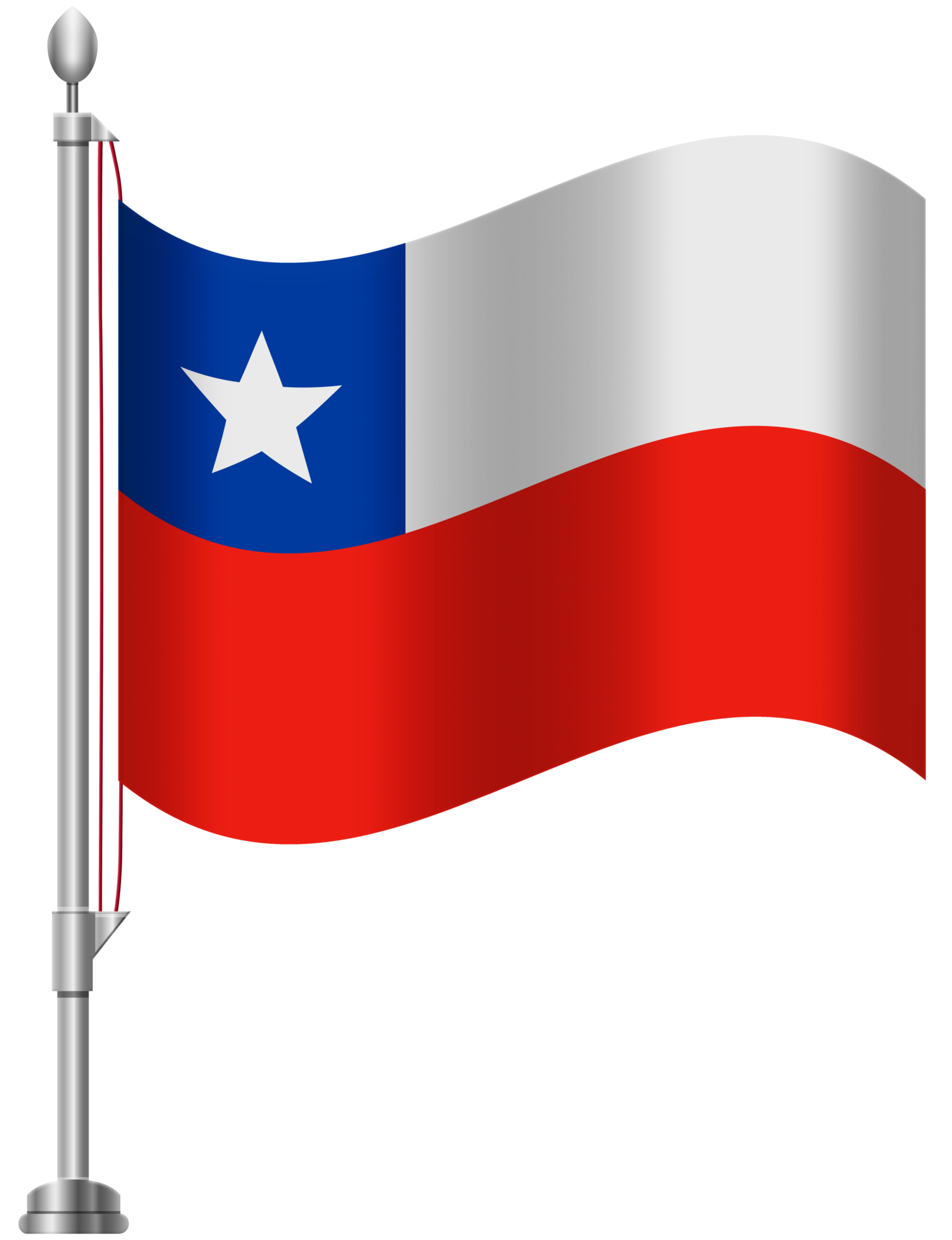 Chile Flag PNG Clip Art