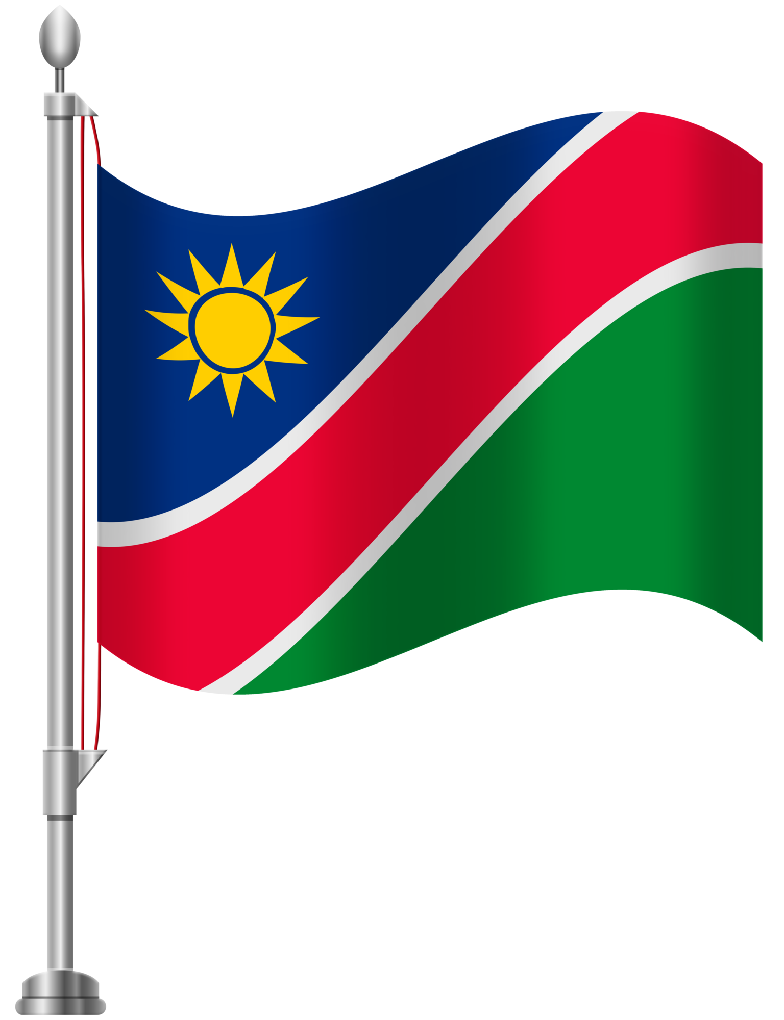 Namibia Flag PNG Clip Art