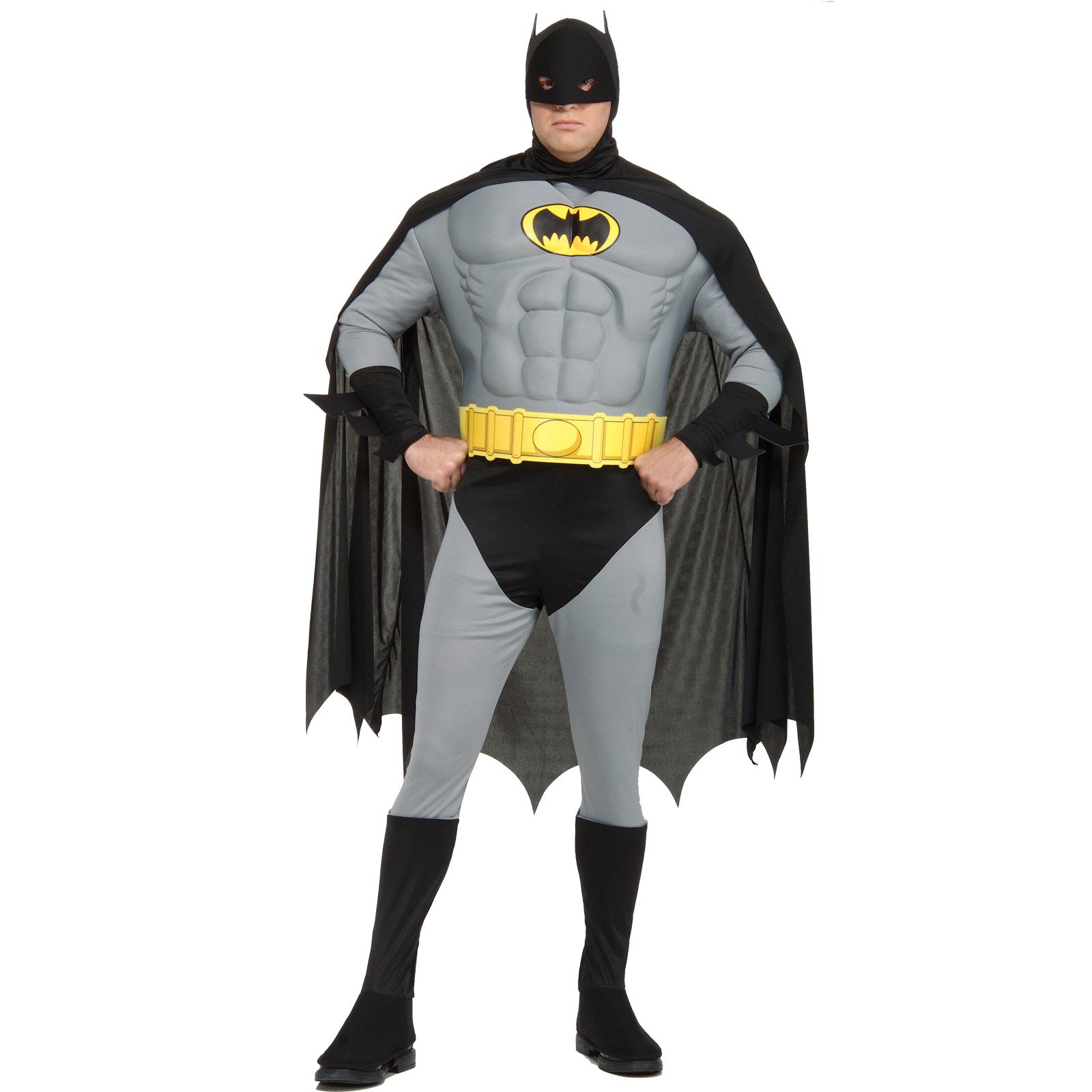 muscle chest batman plus costume clip art