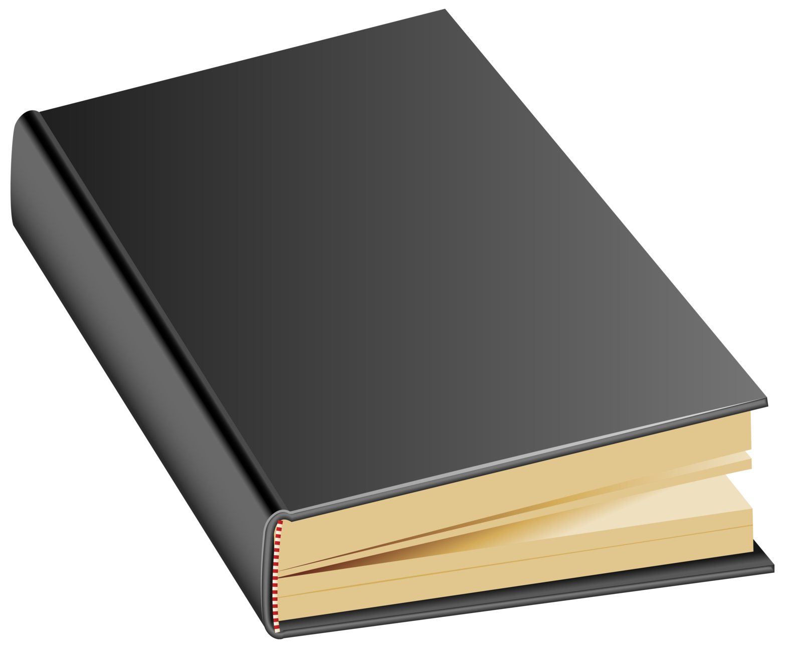 Book Cover Black : Black book png clipart