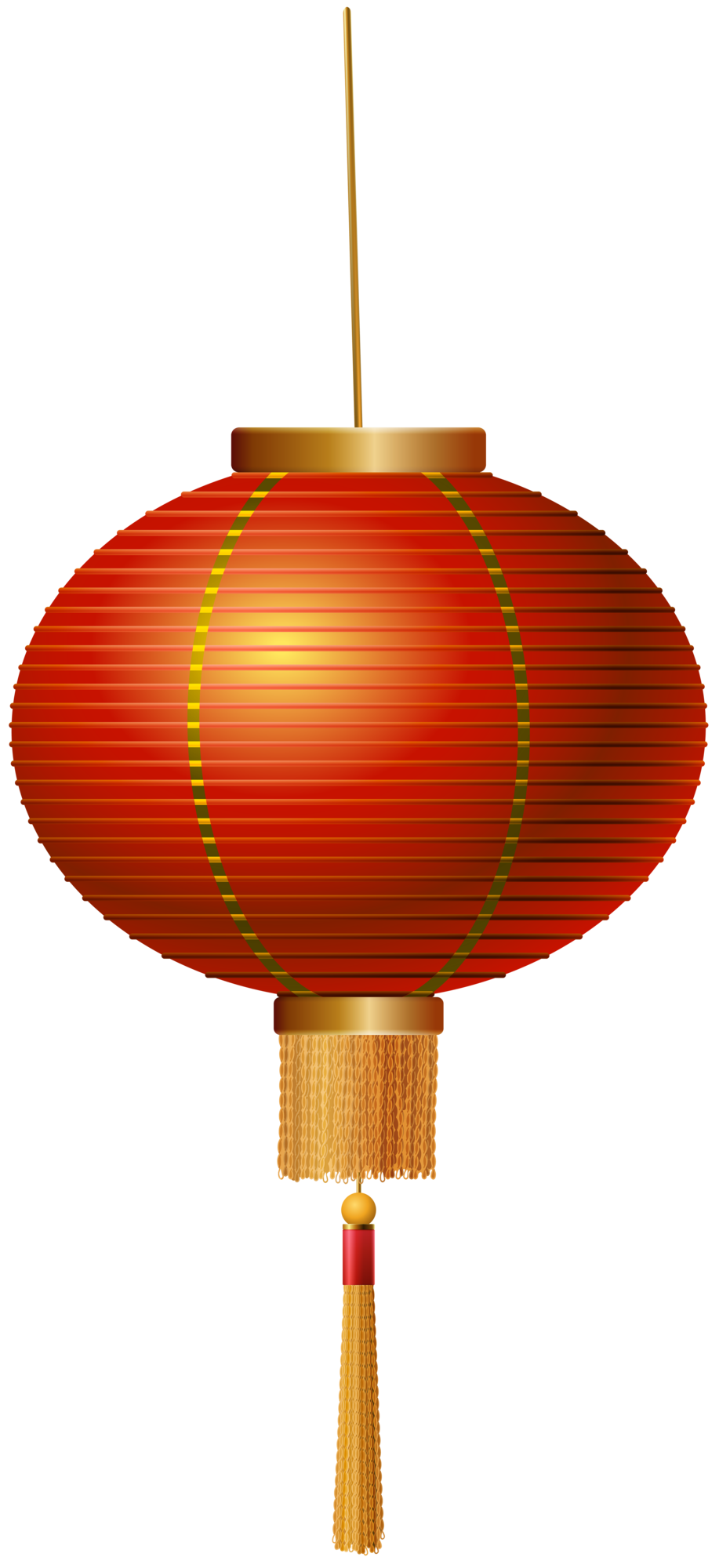 Red Chinese Lantern PNG Clip Art