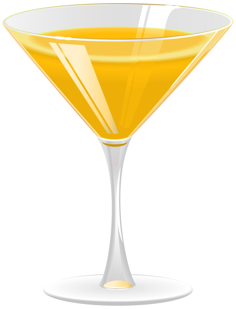 Cocktail Orange PNG Clipart