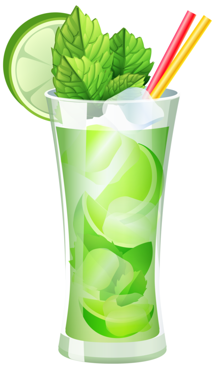 Transparent Mojito Cocktail PNG Clipart