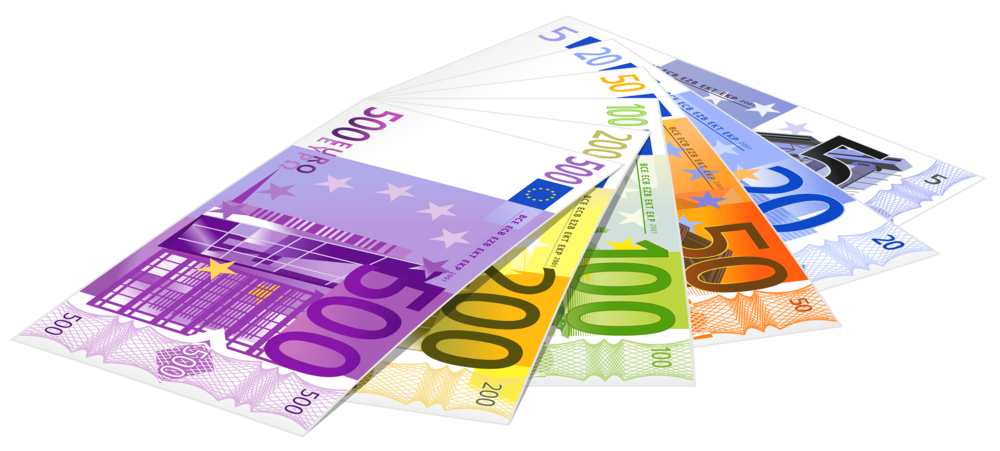 Euro Banknotes PNG Clipart