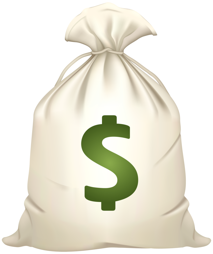 Bag of Money PNG Clipart