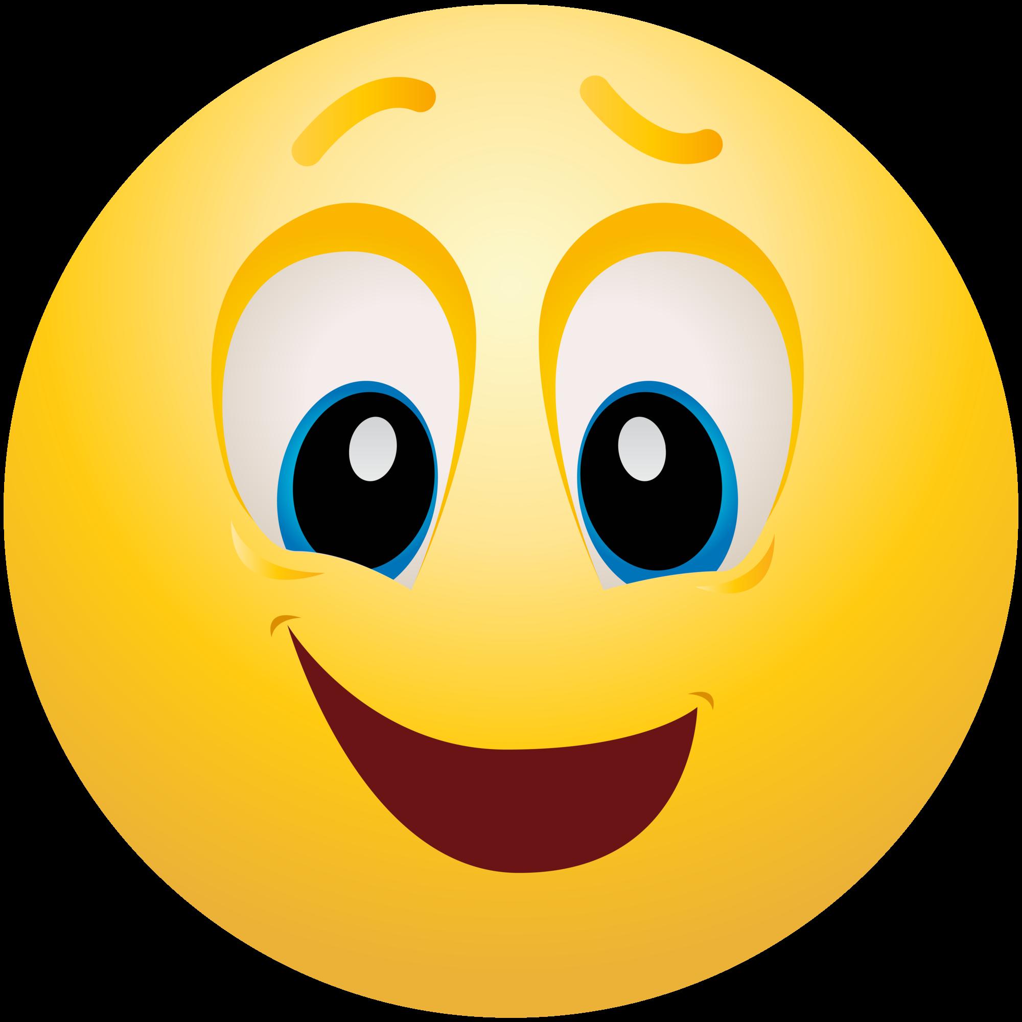 emoji happy feeling emoticon clipart downloads info