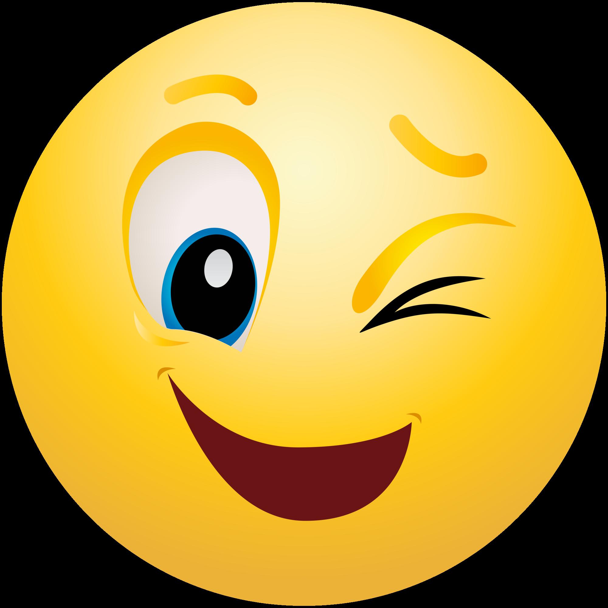 winking emoticon emoji clipart info rh clipart info emoticons clipart free emotion clipart
