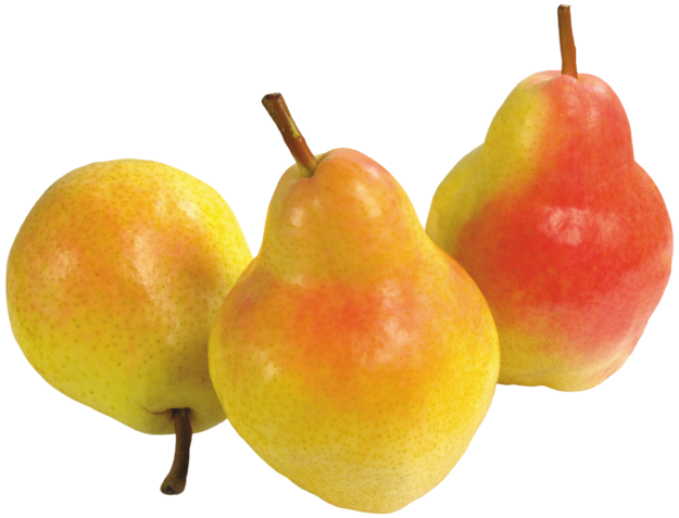 Three Pears PNG Clipart