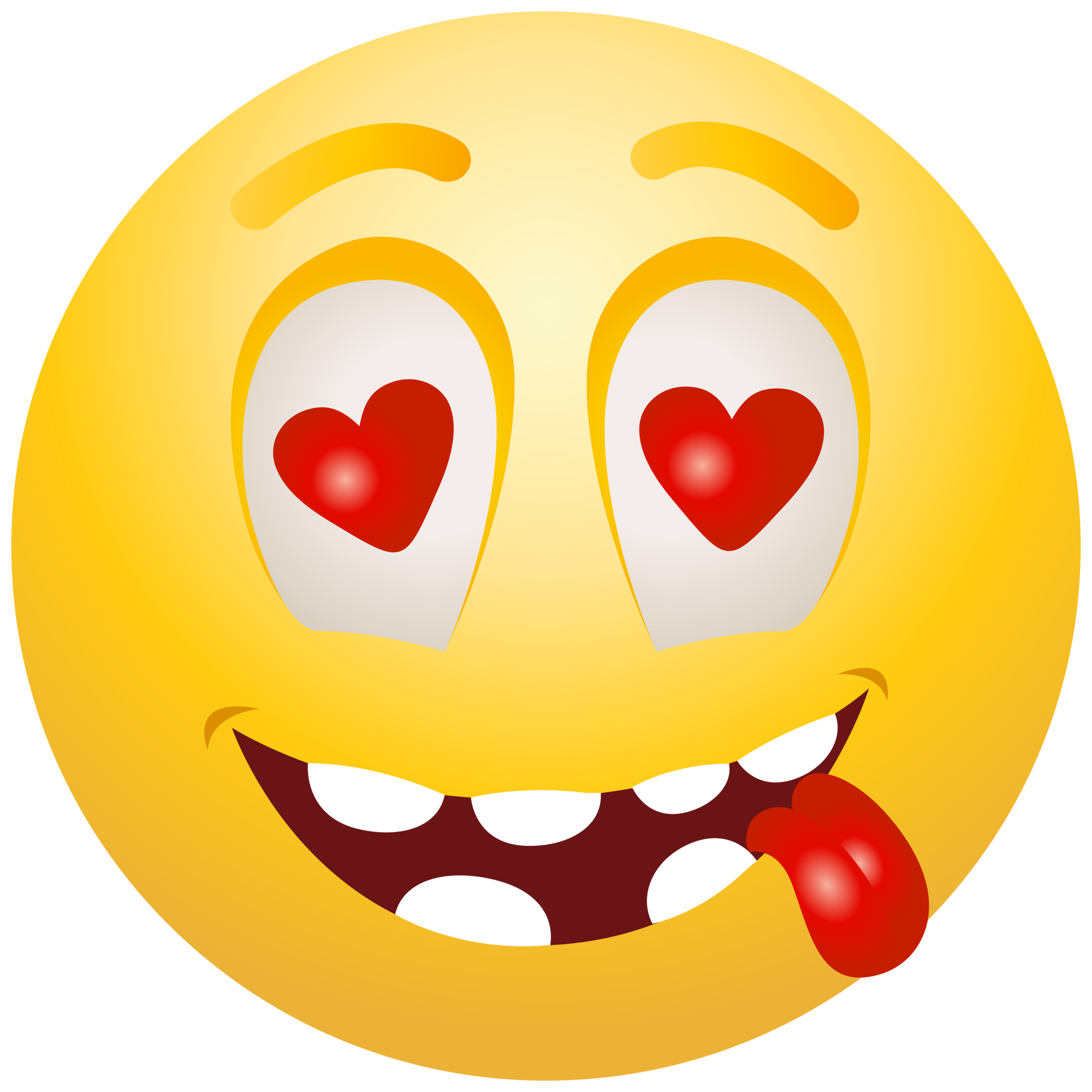 In Love emoticon emoji Clipart info