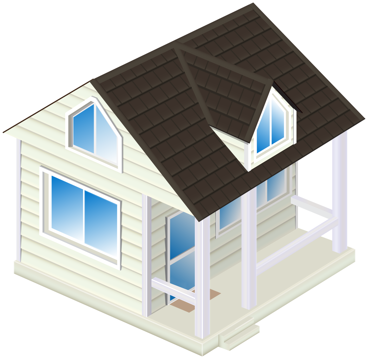House PNG Clip Art2153