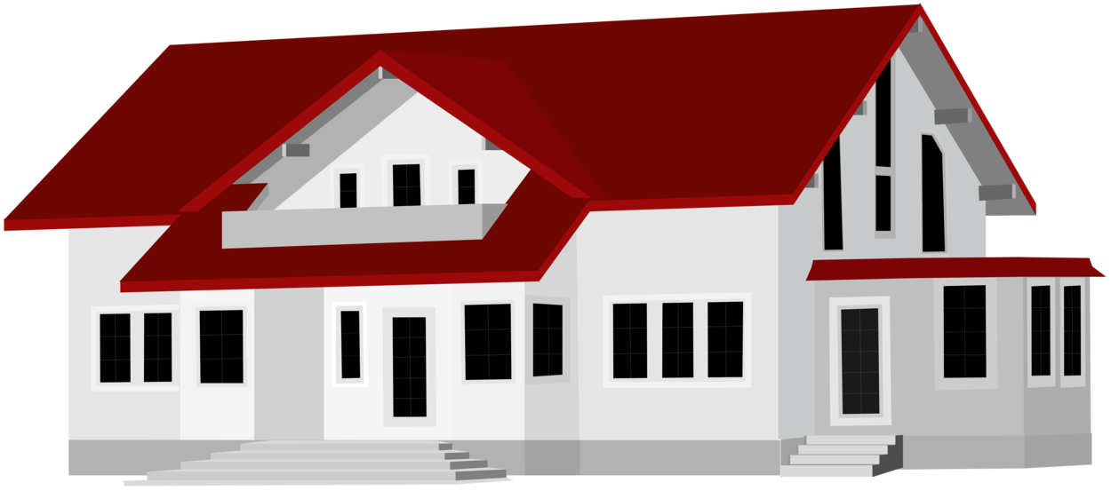 Large House PNG Clip Art2145