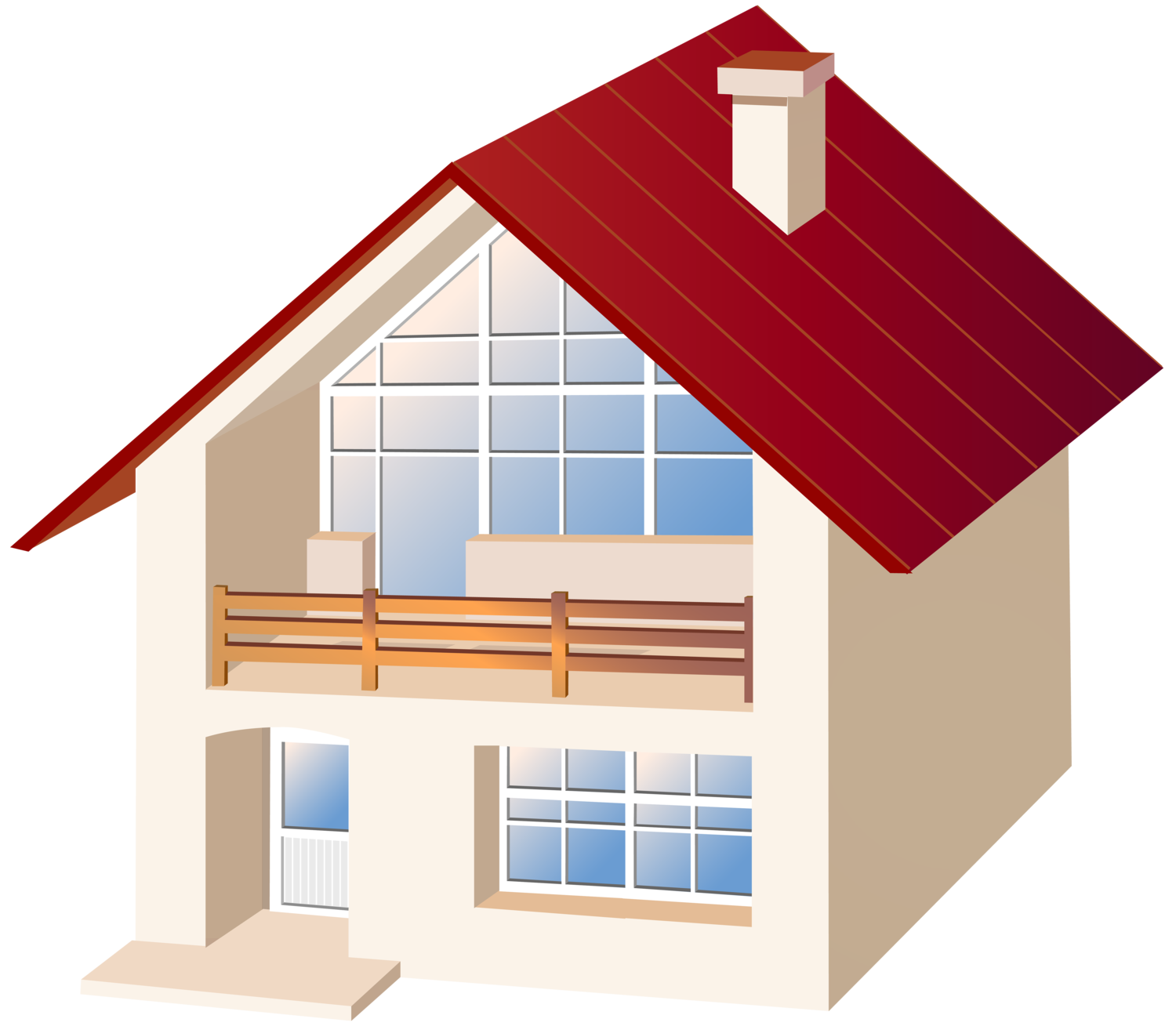 House PNG Clip Art2151