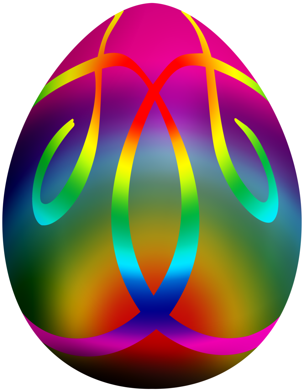 Colorful Easter Egg PNG Clip Art