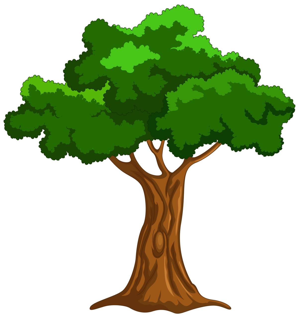 Cartoon Tree PNG Clip Art