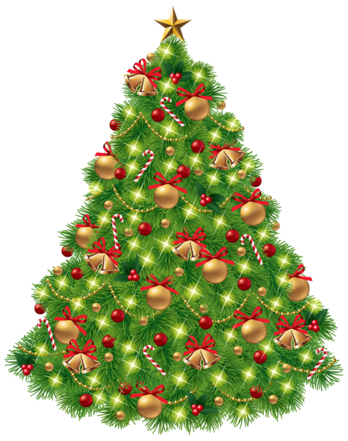 Christmas Tree PNG Clipar