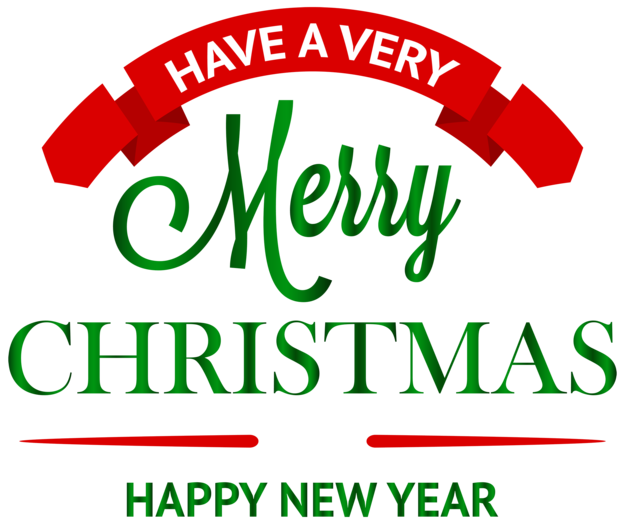 Have a Merry Christmas Decoration PNG Clipar