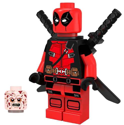 Deadpool Lego Clipart Png