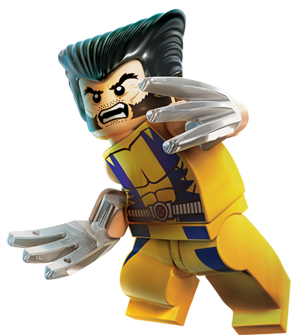 wolverine lego marvel heroes clipart no background