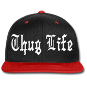 Thug Life Black Hat PNG transparent