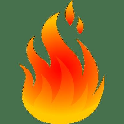 Cartoon Fire Png Transparent