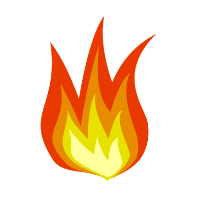 simple cartoon flame png transparent rh clipart info cartoon flame thrower cartoon flame