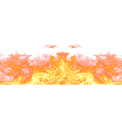 fire footer png transparent
