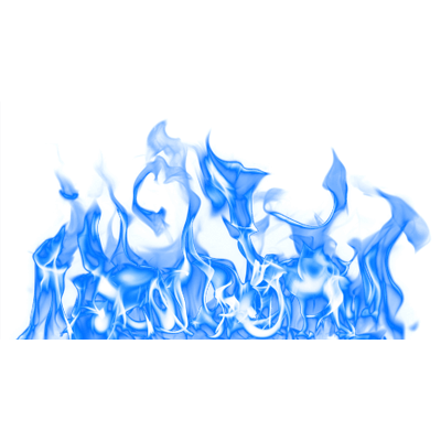 large blue fire png transparent