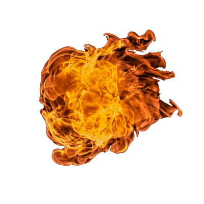 Huge Ball Of Fire Png Transparent