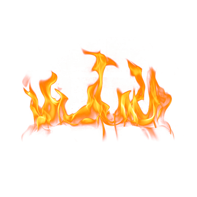 Line Of Flames Fire Png Transparent