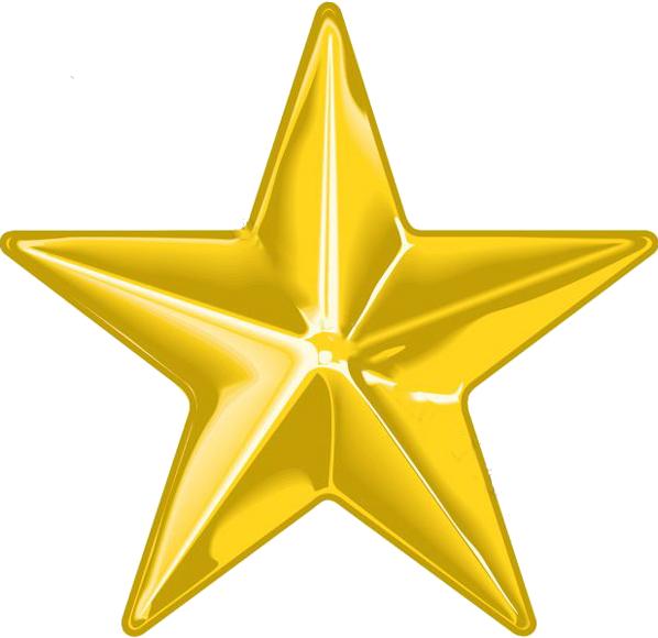 Gold Star Png New Calendar Template Site 7