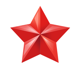 Star Png Red Small Alpha Transparent Image Clip Art