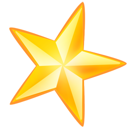 star png image gold clipart