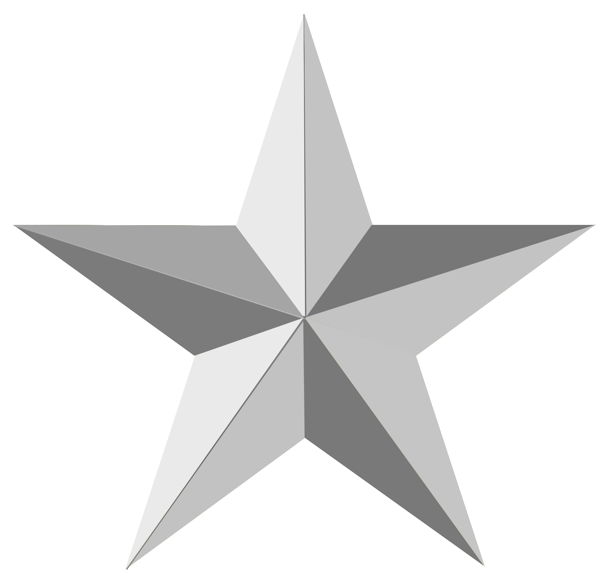 gray star png picture background transparent