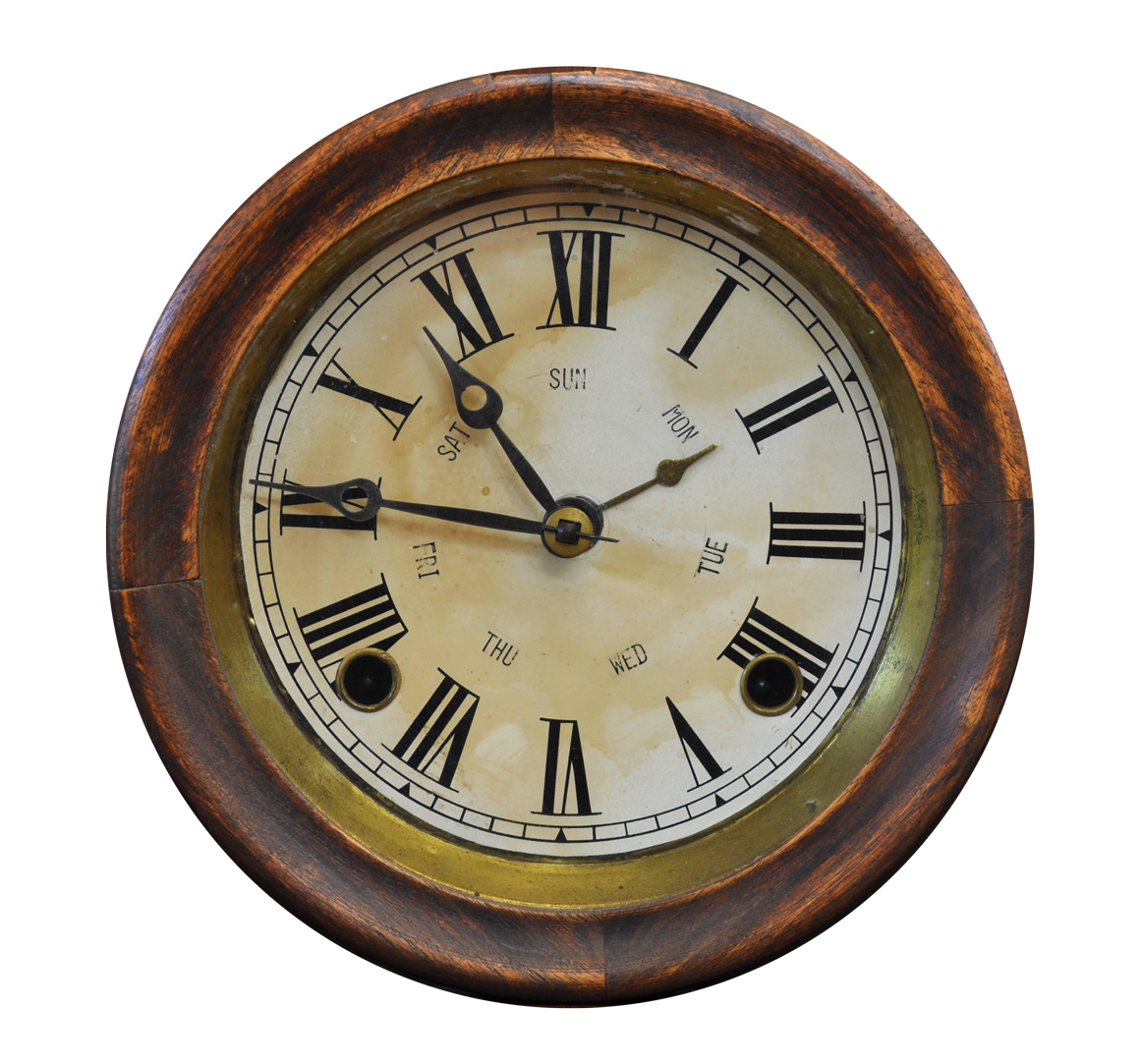 Antique Clock PNG image